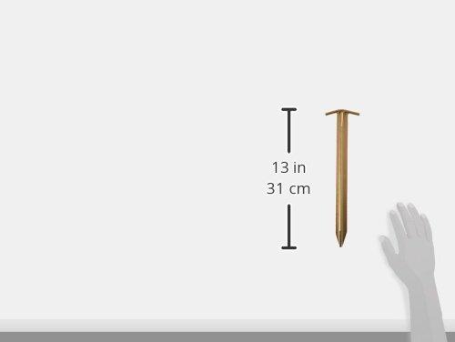 10T Zeltheringe – Stahl T-Profil, 4er-Set - 2