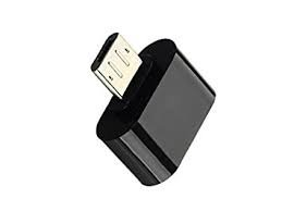 ApeCases Mini Micro USB OTG Cable – Attach Pendrive, Mouse, Keyboard to Mobiles & Tablets Samsung Nokia Blackberry Sony – USB a Female to Micro USB male,2.0 female.