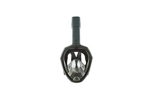 FLHLH Masque de plongée pour Les Enfants,Masque de plongée imperméable et antibuée en Silicone, Lunettes de Protection HD Pliables, Gris_S / M,loupes de Masque de plongée