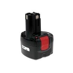 Batteria per Bosch Trapano avvitatore PSR960 NiCd O-Pack Cellule giapponesi, 2400mAh/23Wh, 9,6V, NiCd