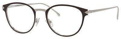 Fendi - FUNKY ANGLE FF 0167, Rechteckig, Metall, Damenbrillen, BROWN PALLADIUM(VBI), 50/19/140