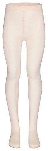 """""""Lena"""", il collant da balletto per bambini di tanzmuster con piede preformato e senza tassello - non pungono, non scivolano giù, hanno una vestibilità ottimale grazie al materiale altamente elastico - rosa-albicocca, 122-140 - 8-11 anni"""