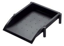 Preisvergleich Produktbild Helit H6390895 - Klammerspender mit Magnet, Serie: Lineal, schwarz