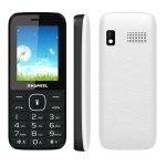 Rishil World [US Stock] Haweel X1 Mobile Phone, 2.4 Inch, 1500mAh Battery, Dual SIM, Super Big Speaker, Support FM/TF/Torch/BT(White)