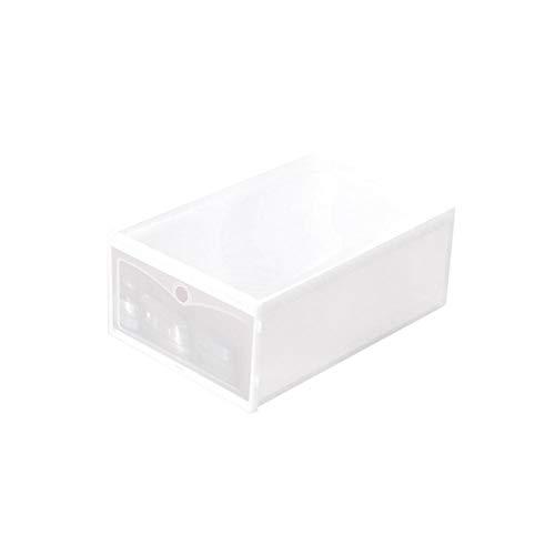 circulor 3PCS Schuhbox Transparent, Transparent Stapelbar Plastikschuhkasten, Schuhspeicherkasten, Verwendbar Transparent Stapelbar Für Männer Und Frauen