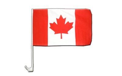 Kanada Flagge, kanadische Autoflagge - 30 x 40 cm, MaxFlags® (Autofahne Kanada)