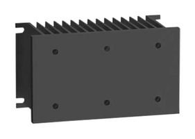 Schneider SSRHD10 Kühlkörper für Halbleiterrelais, 1, 0 K/W, DIN-Schiene