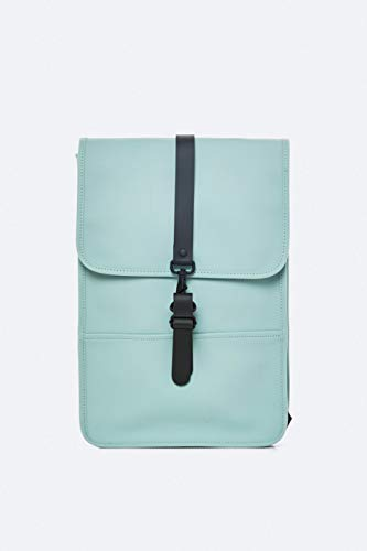Rains water-resistant backpack mini light blue