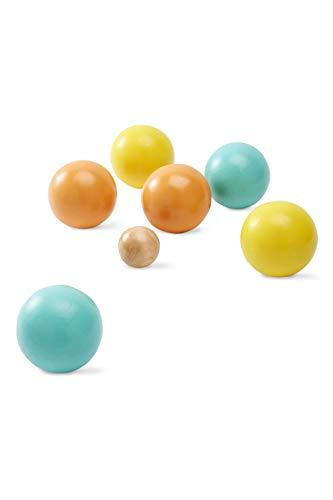 Vertbaudet Boulespiel aus Holz für Kinder Mehrfarbig ONE Size