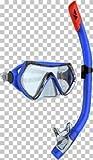 Tecno Pro ST5 2 Tauchset Taucherbrille + Schnorchel Gr. L