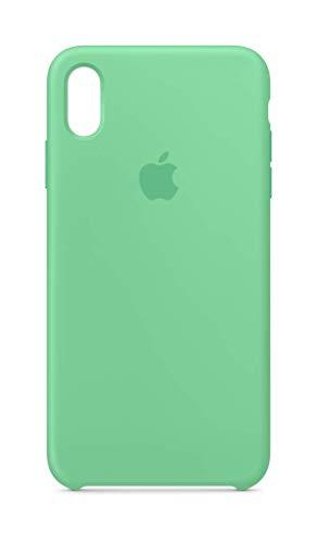 Apple Silikon Case (iPhone XS Max) - Minzgrün Silikon Apple