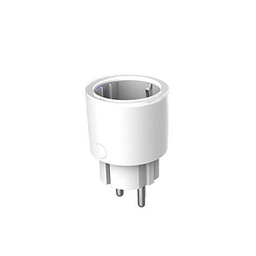 shizhongminghe-IT Spina Intelligente Spina WiFi Presa WiFi Telecomando TP22 Spina UE Mini Presa WiFi per Amazon Voice Alexa Socket-Tp22 EU-
