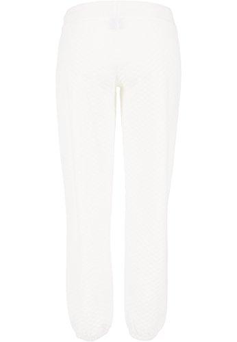 Urban Classics - Pantalon de sport - Femme Ecru - Blanc cassé