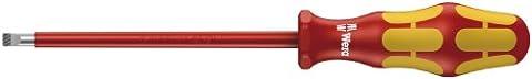 Wera 160 i VDE 05006121001 Tournevis isolé pour vis à fente 1 x 5,5 x 200 mm