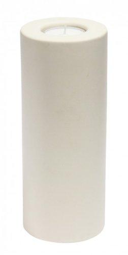 GILDE Bodenleuchter Studio aus Keramik, 20/25/30 cm, creme, 3-teiliges Set