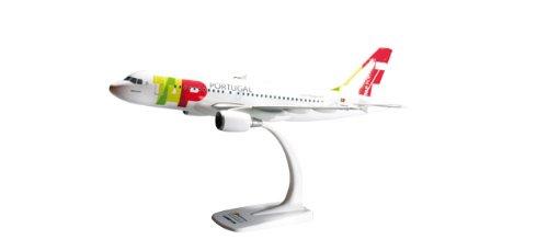 Preisvergleich Produktbild 1/100 Herpa Snap Fit TAP Air Portugal Airbus A319 609869