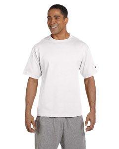 7 oz. Heritage Jersey T-Shirt WHITE L (Ärmeln Poly-baumwolle-shirt)