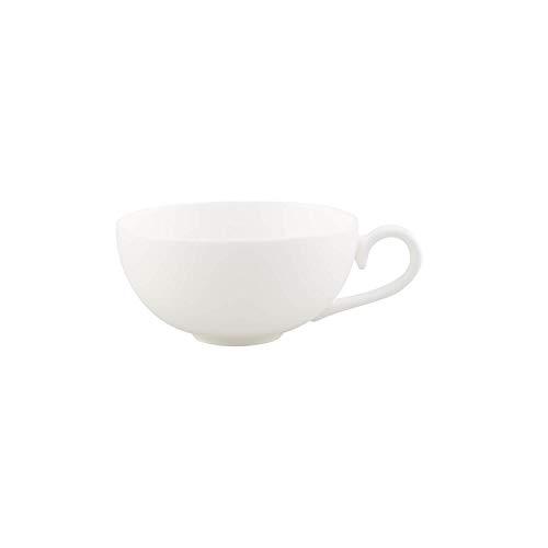 Villeroy & Boch Royal Teetasse, 230 ml, Premium Bone Porzellan, Weiß (Alte Royal Bone China)