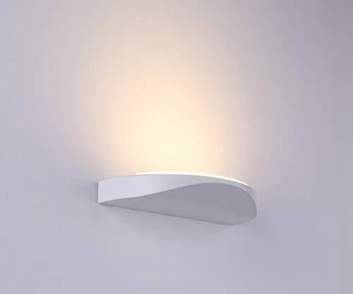 Lanfu 10 w elegante lampada da parete molto chic design applique da parete ideale per la camera bianco caldo del led, soggiorno, scala e salotti, 230 * 112 * 20mm