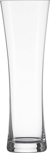 Schott Zwiesel 117841 Beer Basic 2-teiliges Weizenbierglas Set, Kristall, farblos, 8.55 cm, 2 Einheiten (Bier Rund Um Die Welt)