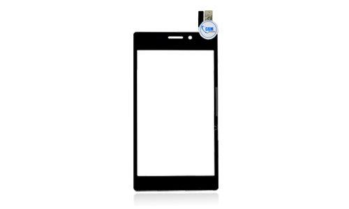 Touch Screen Front Scheibe Display Glas Digitizer f. Sony Xperia M2 Aqua Schwarz