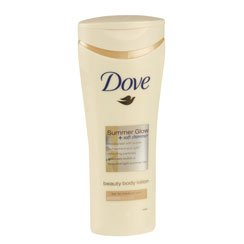 Dove Summer Glow + Soft Shimmer Fair to Medium Skin 250ml