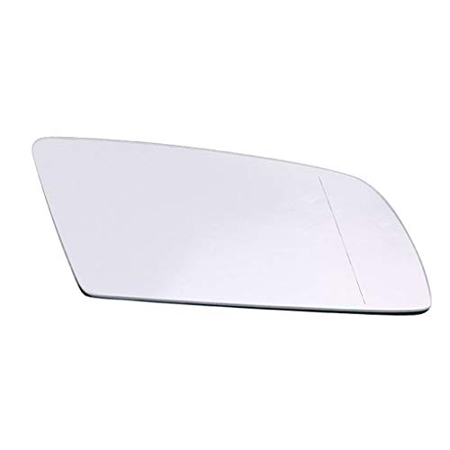 Cdrox Weiß rechts Beifaherseite Car-Styling-Rückseitenspiegel Glaslinse Ersatz für BMW E60 E61 04-08 51167065082