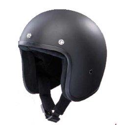 Bandit Helmets Jethelm ohne ECE mattschwarz, Sports-Farbe:matt schwarz;Größe: L (59-60cm)