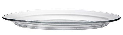 DURALEX 3022AF06 Lys Plat Ovale Lys Verre Transparent 36 cm