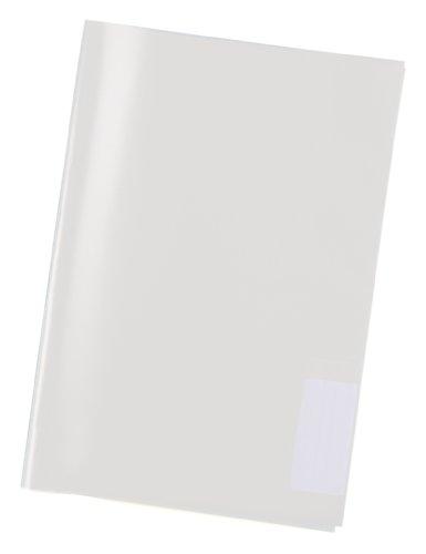 Herma 7459 Kunststoff Schoner für Karton Schnellhefter und Spiralhefter in DIN A4, Kunststoff, Format, 1 Stück, transparent farblos