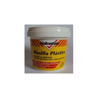 Molto/Alabastine Spatula Wood Line/Wood Filler White 1kg
