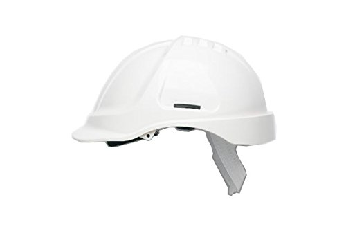 Scott Safety HC600/W Helmet Unvented with Sweatband, White