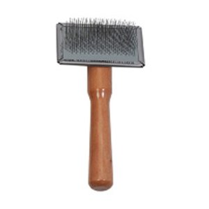 Ancol Tiny Soft Cat & Dog Slicker Grooming Brush by Ancol