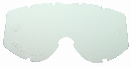 Progrip Ersatzglas transparent 12, double Antifog, Einheitsgröße für alle Progrip Cross Brillen