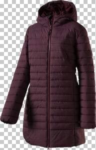 McKINLEY Damen Mantel Heather Wetterfester Outdoor Mantel Jacke Rot Melange Neu, Damen Größe:36