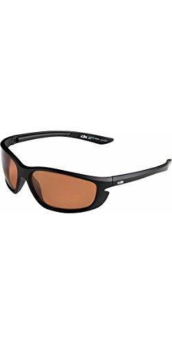 Gill Corona Watersport Beach Yachting- oder Surf-Sonnenbrille Mattschwarz - Polarisierte Brillentechnologie