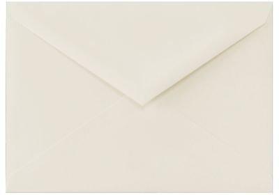 51/2BAR Antwortkarten mit Briefumschlag Briefumschläge (43/8x 53/4in) (111x 146mm)–(500Stück.) 100% Cotton - Natural White