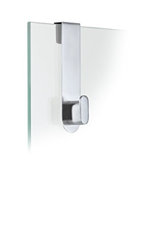 Blomus AREO TWIN WALL HOOK Bathroom Polish STAINLESS STEEL Matt Silver