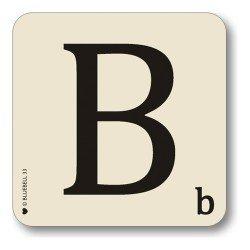 scrabble-estilo-alfabeto-letra-en-una-posavasos-nuevo-b-