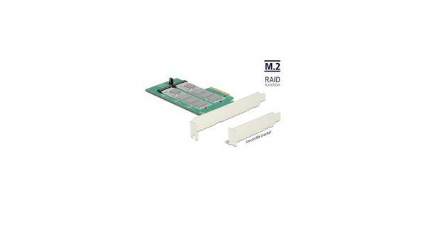 Delock Pci Express Karte 2 X Intern M 2 Key B Mit Elektronik