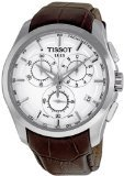 Tissot Couturier T0356171603100 Stainless Steel Case Brown Leather Men's Quartz Watch