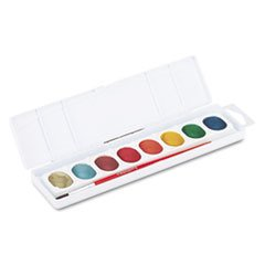 4COU ** Metallic Washable Watercolors 8 Assorted Colors **