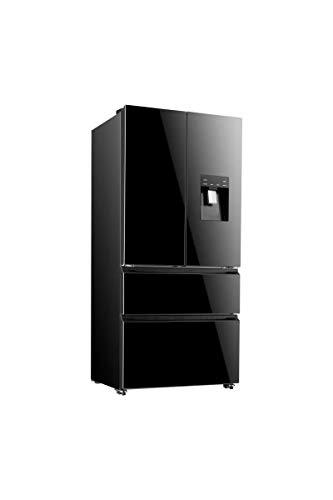 Continental edison ceraf536db - réfrigérateur multiportes - 536 l (350+186 l) - ventilé no Frost - a+ - l 90,8 x h 192,5 cm -.