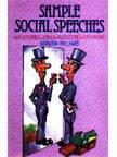 Sample Social Speeches, Wit, Stories, Jokes, Anecdotes, Epigrams