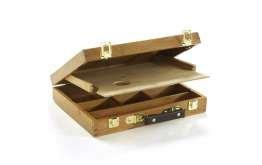 Lefranc Bourgeois 440085 Coffret de rangement pour Artiste peintre avec palette