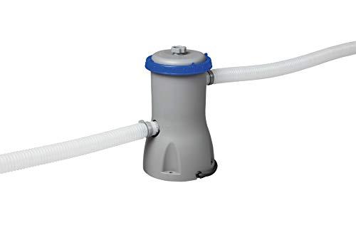 Bestway Poolzubehör Flowclear Filterpumpe, 3,028 l/h, grau