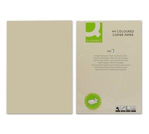 Q-Connect kf01092Farbe Kopierpapier A480g creme (500Pack)