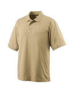 Adult Wicking Mesh Sport Shirt VEGAS GOLD S -