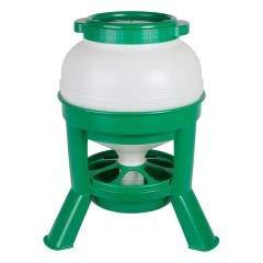 Geflügelfutterautomat - Futtersilo - Geflügelfuttersilo - Geflügelfuttertrog- Hühnerfuttersilo 20 Liter