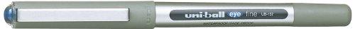 uni-ball-ub-157-eye-fine-lot-de-12-stylos-roller-bleu